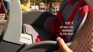 Montage et installation siège enfant avant Weeride