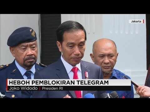 Presiden Jokowi Soal Telegram, & Founder Telegram, Pavel Dur