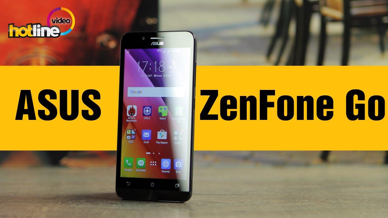 ASUS ZenFone Go (ZC500TG) –  обзор смартфона