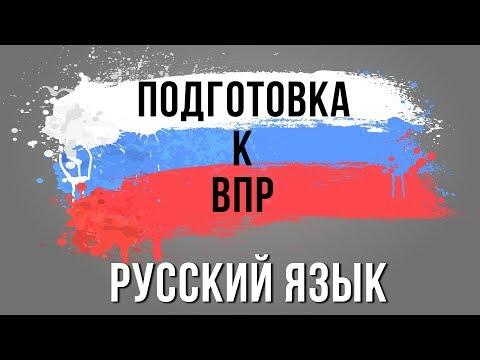 впр по русскому языку 2019 8 класс