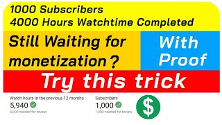 how to enable monetization on youtube | monetization still under review | monetization not enabled