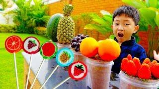 Download [30분] 예준이와 아빠의 장난감 가게놀이 과일 아이스크림 햄버거 마트놀이 전동 자동차 ICE CREAM Store Food Toy Video for Kids