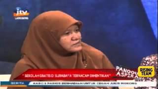 "Reni Astuti Aleg PKS Kota Surabaya ""Sekolah Gratis SMA/SMK terancam dihentikan di Surabaya"""