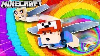 UCZYMY SIĘ LATAĆ W MINECRAFT! (Minecraft Elytra Challenge Map) | Vito vs Bella