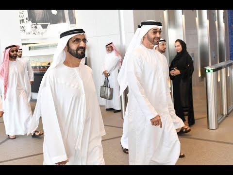 محمد بن راشد يزور أدنوك ويطلع على استراتيجيتها المستقبلية