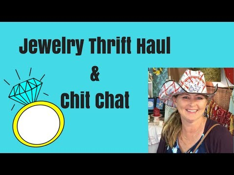 Jewelry Thrift Haul & Chit Chat