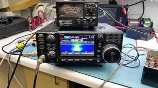 qso on 70cm fm using my modded icom ic 7300