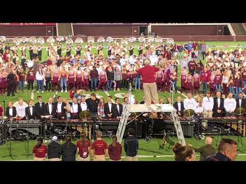 When Twilight Shadows Deepen - Tom Grady Conducts The UMass Amherst Minuteman Marching Band