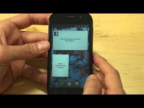 Samsung I9023 Google Nexus S Test Bedienung