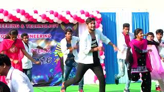 New Telugu Medley Duets Songs  On The Stage Of Pydah College On The Occasion Of Mechanical Fest