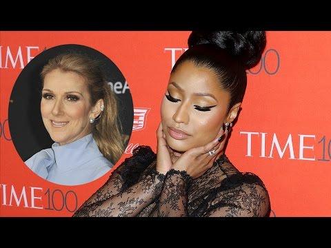 Nicki Minaj Lip Syncs To Celine Dion &...
