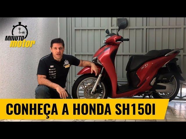 10 curiosidades sobre o scooter SH 150i