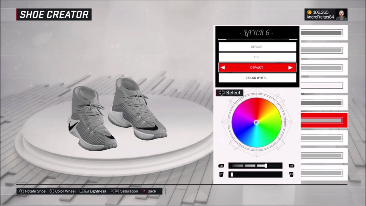 sports shoes 9cd7b 6f891 NBA 2K17 BRASIL SHOES NIKE ZOOM CLEAR OUT GRAY DRAYMOND GREEN