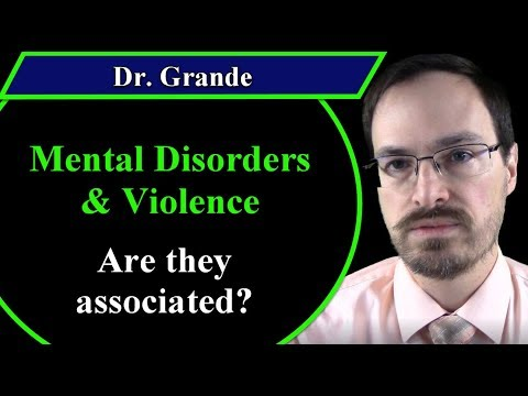 What is the Relationship between Mental Health Disorders and Violence?