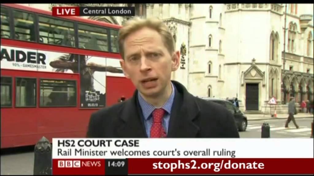 Hs Judicial Review Bbc News Report Live Interview With Joe Rukin Youtube