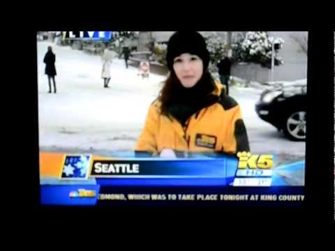 Reporter Ruins Sledding Fun on Queen Anne hill in Seattle?