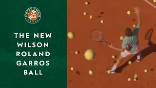 Discover the new Wilson Roland-Garros ball | Roland-Garros 2020