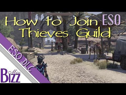 How to get to the Thieves Guild DLC ESO - How to join Thieves Guild in ESO Hew's Bane Abah's Landing