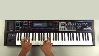 Roland Juno-Gi - How to Transpose Key