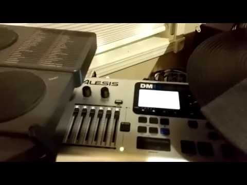 How I expanded my Alesis DM10X Kit.