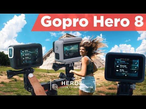 GoPro HERO 8 BLACK, Hyper-smooth 2.0 review   Lão Râu phiên dịch ra tiếng Việt cho AE