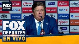 """FDenVivo: """"Para mi el segundo tiempo no existe"""": Miguel Herrera"""