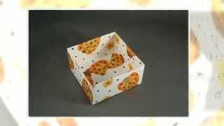 Подарочная коробка своими руками из бумаги