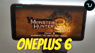 OnePlus 6 Monster Hunter Tri Gameplay Wii emulator Snapdragon 845 Dolphin latest version