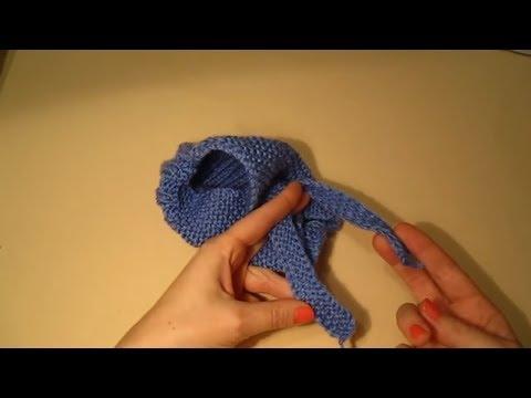 Вязание тапочек крючком -