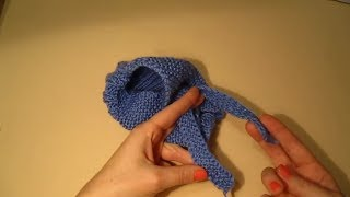 САМЫЙ ПРОСТОЙ СПОСОБ ВЯЗАНИЯ СИМПАТИЧНЫХ ТАПОЧЕК!Вязание для начинающих.knitting