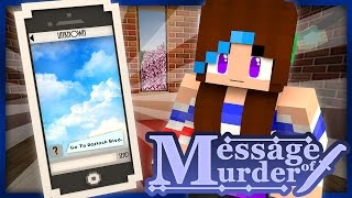 Mysterious Text | Message of Murder | Ep 1 (Minecraft Roleplay)