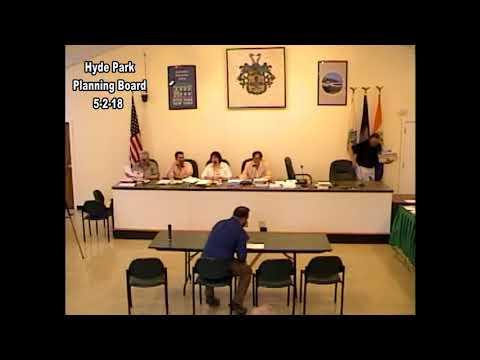 Hyde Park Planning Board 5-2-18