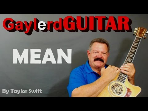 Banjo banjo chords mean taylor swift : Vote No on : Mean (Tutorial-Taylor Swift)
