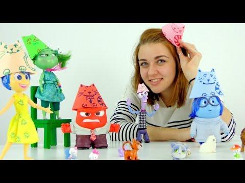 Видео для девочек. Котопати у кукол из мультфильма Головоломка