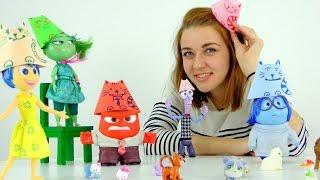 """Видео для девочек. Котопати у кукол из мультфильма """"Головоломка"""""""