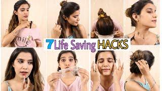 7 LIFE SAVING Hacks Everyone Should Know | Dark Lips, Hairstyle, Fashion, Skincare |Super Style Tips