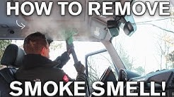 Interior Smoke Removal Tricks: Mercedes AMG G55