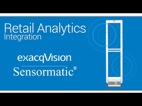 exacqVision Integrates with Sensormatic Synergy Series Electronic Article Surveillance (EAS)