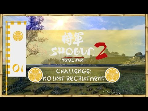 Let's Play Total War: Shogun 2 (Challenge: No Unit Recruitment) - Tokugawa - Ep.01 - Bribes!