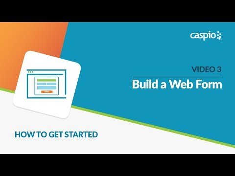 Learn How to Get Started with Caspio (Part 3 of 5) - Build a Web Form
