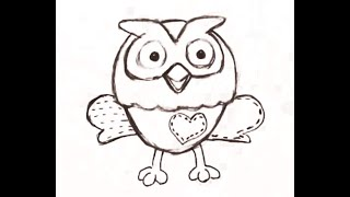 How to Draw Hoot from the Giggle and Hoot - Jimmy Giggle and Hoot Show