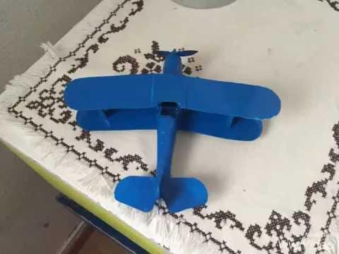 Préférence Comment faire un avion en carton - YouTube BX85