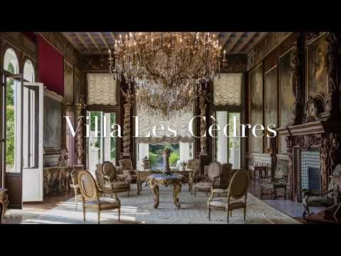 Villa Les Cèdres - the most expensive villa in the world.