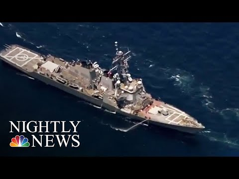 US Navy Identifies Seven Soldiers Killed In USS Fitzgerald Crash Off Japan | NBC Nightly News