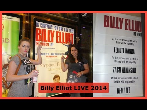 Billy Elliot Live - Vlog 2014