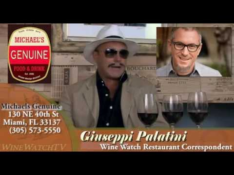 Restaurant In Review With Giuseppi Palatini- Michaels Geniune - click image for video