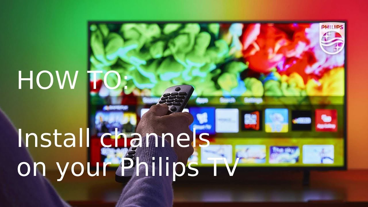 How to install channels on your Philips Saphi Smart TV [2018]