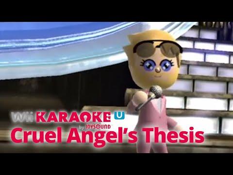 Wii Karaoke U - Evangelion Opening / Cruel Angel's Thesis [残酷な天使のテーゼ]