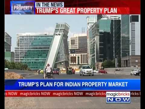 Donald Trump: Big bets on Indian property market, invests in Gurgaon - The Property News