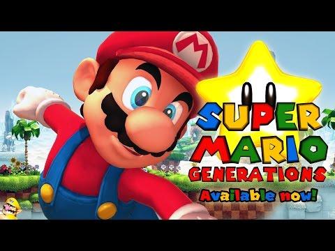 (RELEASE)Sonic Generations Mod: Super Mario Generations